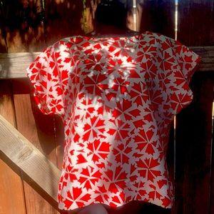 Modern Print Shirt